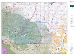 Montana Land Ownership Maps by Mt Big Horn Sheep Gmu 502 Map Mytopo