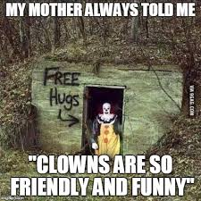 Funny Clown Meme - 27 most funniest scary meme photos and images of all the time