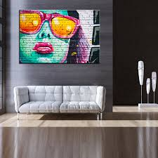 Graffiti Art Home Decor Online Buy Wholesale Custom Graffiti Art From China Custom