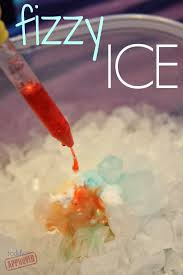 toddler approved fizzy ice science activity for kids