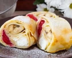 cuisiner des crepes recette de crêpes légères fourrées à la ricotta framboises et