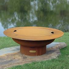 Firepit Covers Saturn Gas Outdoor Pit Woodlanddirect Outdoor