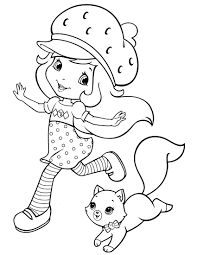 epic strawberry shortcake coloring pages 44 with additional free
