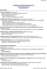 Resume Sample Harvard University by Curriculum Vitae Sample Harvard
