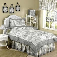 Ideas For Toile Quilt Design Catchy Design Ideas For Toile Bedding Black Toile