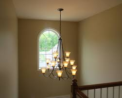 Contemporary Foyer Chandelier Chandelier Lighting Design Sensational Old Tulip Shade Warm