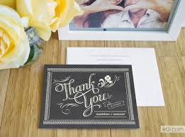 personalized wedding items thank you card pictures style personalized wedding thank you