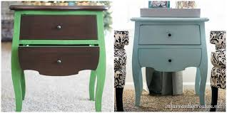 chalky blue paint chalky metallic finish painted dollar store