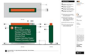 design guidelines the gables yazi university of miami wayfinding