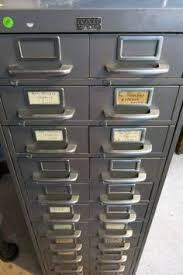index card file cabinet 1950s allsteel 15 drawer flat file cabinet sold drawers filing
