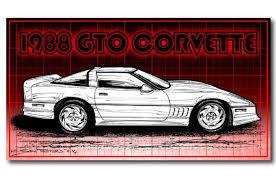 c4 corvette ground effects 1988 corvette gto racer kit