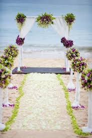 How To Decorate Wedding Arch 50 Beach Wedding Aisle Decoration Ideas Deer Pearl Flowers