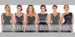 mix match bridesmaid dresses fall trend mix n match bridesmaid dresses essense designs