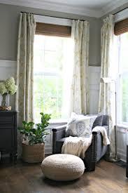 Decorative Traverse And Stationary Drapery by Best 25 Corner Window Curtains Ideas On Pinterest Corner