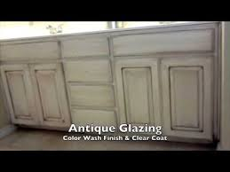 White Painted Cabinets With Glaze by Faux Paint Finish Walls And Antique Glaze Cabinets Arlington