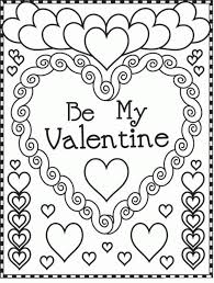 valentine coloring pages printable intended to inspire in coloring