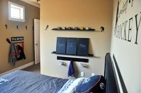 Customhockey Bed Hockey Bedroom Furniture Frame Decor For Images - Boys hockey bedroom ideas