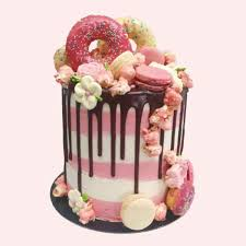 personalised chocolate cupcakes valentines day gifts image result for extravagant drip cakes birthday cakes