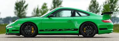green porsche 911 porsche 911 gt3 rs 2007 welcome to classicargarage