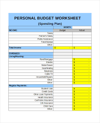 personal budget template personal monthly budget income template