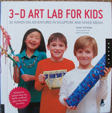 crafty moms share 3 d art lab for kids book review