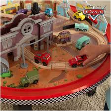 kidkraft 18002 kids disney cars cadillac range train u0026 table set