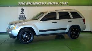 white jeep cherokee black rims the sharpest rides 2006 jeep grand cherokee laredo s5278 youtube