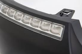 2004 f150 fog lights ford f150 2004 2008 led drl front upper bumper cover black