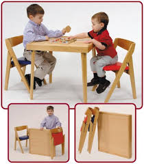 Folding Table Chair Set Childrens Folding Table And Chair Set Sanblasferry