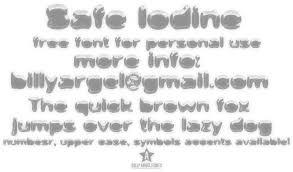 dafont free safe safe iodine font dafont com