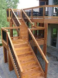 Deck Stairs Design Ideas Deck Landing Designs Glamorous Deck Stairs With Landing 53 For