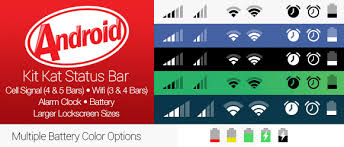 android bar android kit status bar for ios 7 by thebassment on deviantart