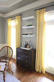 Grey Curtains On Grey Walls Decor Curtains For Grey And Yellow Room Www Elderbranch