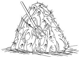 haystack coloring download free haystack coloring