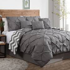 bedroom king duvet covers with white wall design and brown