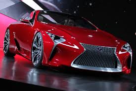 lexus lf lc hybrid concept coupe pictures and details