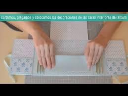 scrapbooking tutorial cornice tutorial mini album bebé scrapbook paso a paso diy youtube