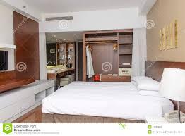 luxurious modern hotel room stock photo image 27509896