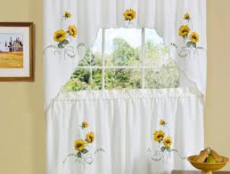 curtains 34697 4 tif sunflower kitchen curtains behappy french