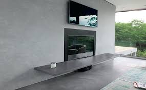 Concrete For Fireplace by Cement For Fireplace Cement Fireplace Poured Cement Fireplace