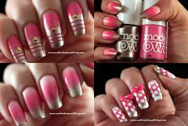 nuthin u0027 but a nail thing nail art with models own pink blush and