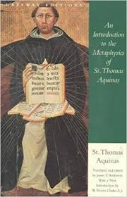 Thomas Aquinas Desk An Introduction To The Metaphysics Of St Thomas Aquinas Saint