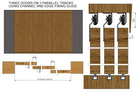 Barn Door Hardware Track System by Doors For Sliding Door Track Sliding Track System Generva