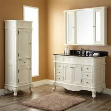best white bathroom vanity with black top pertaining to interior