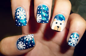 top 15 beauty christmas nail art design u2013 new easy winter manicure