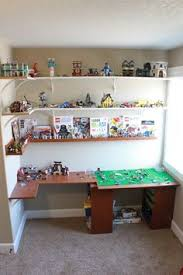 building table with storage love this idea to organize legos this could be a possibility for a