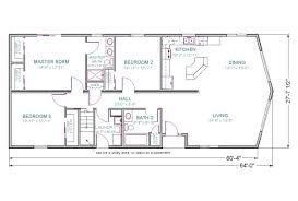 One Story House Plans With Basement by 4 Bedroom Ranch House Plans With Walkout Basement Bungalow Floor