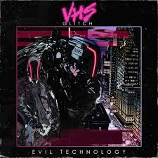 evil technology album vhs glitch