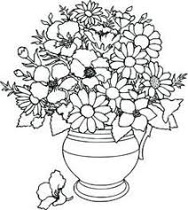 flower printable coloring sheets flower pot coloring