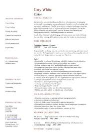 Manager Skills Resume Management Cv Template Managers Jobs Director Project